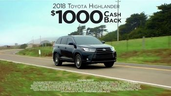2018 Toyota Highlander TV Spot, 'Live With Peace of Mind' [T2] - Thumbnail 6
