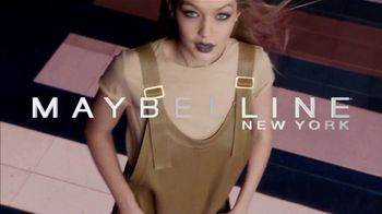 Maybelline SuperStay Matte Ink Un-Nude TV Spot, 'Go Un-Nude' Ft. Gigi Hadid - Thumbnail 4
