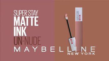 Maybelline SuperStay Matte Ink Un-Nude TV Spot, 'Go Un-Nude' Ft. Gigi Hadid - Thumbnail 9
