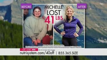 Nutrisystem TV Spot, 'Busy, Stressed and Gaining Weight: 40 Percent' - Thumbnail 4