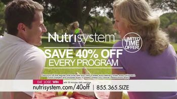 Nutrisystem TV Spot, 'Busy, Stressed and Gaining Weight: 40 Percent' - Thumbnail 6