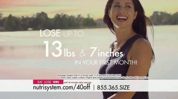 Nutrisystem TV Spot, 'Busy, Stressed and Gaining Weight: 40 Percent' - Thumbnail 7