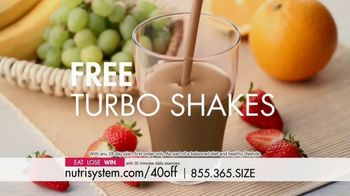Nutrisystem TV Spot, 'Busy, Stressed and Gaining Weight: 40 Percent' - Thumbnail 8