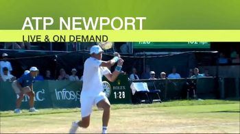Tennis Channel Plus TV Spot, 'ATP World Tour' - Thumbnail 6