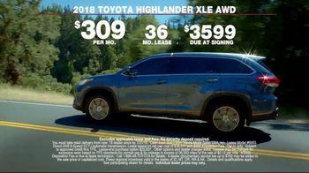 Toyota Highlander XLE TV Spot, 'A Powerful Statement' [T2] - Thumbnail 10