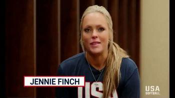 USA Softball Legacy Club TV Spot, 'Following Your Dream' Feat. Jennie Finch - Thumbnail 8