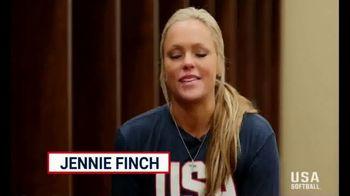 USA Softball Legacy Club TV Spot, 'Following Your Dream' Feat. Jennie Finch - Thumbnail 9