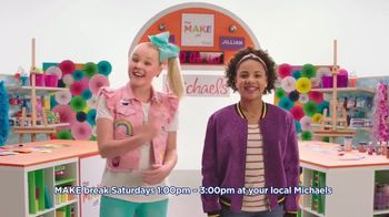 Michaels TV Spot, 'Nickelodeon: JoJo Siwa Makes Canvas Art' - Thumbnail 10