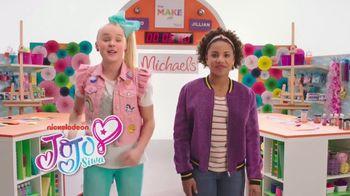 Michaels TV Spot, 'Nickelodeon: JoJo Siwa Makes Canvas Art' - Thumbnail 2