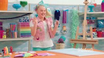 Michaels TV Spot, 'Nickelodeon: JoJo Siwa Makes Canvas Art' - Thumbnail 4