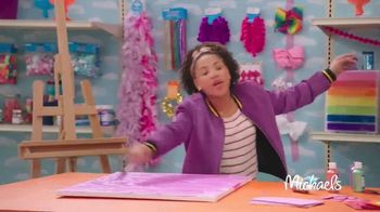 Michaels TV Spot, 'Nickelodeon: JoJo Siwa Makes Canvas Art' - Thumbnail 5