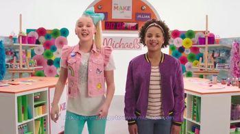 Michaels TV Spot, 'Nickelodeon: JoJo Siwa Makes Canvas Art' - Thumbnail 8