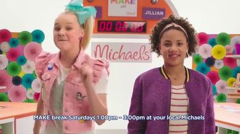 Michaels TV Spot, 'Nickelodeon: JoJo Siwa Makes Canvas Art' - Thumbnail 9