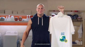Tide PODS TV Spot, 'Talk With Gronk' Featuring Rob Gronkowski - 10566 commercial airings