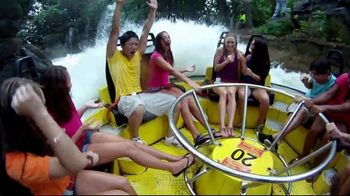 Six Flags TV Spot, 'Heart Pounding Rides'