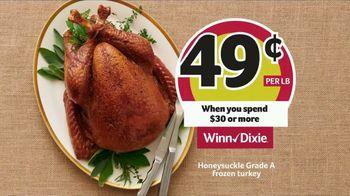 Winn-Dixie TV Spot, 'The Perfect Holiday Feast: Honeysuckle Turkey'