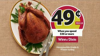Winn-Dixie TV Spot, 'The Perfect Holiday Feast: Honeysuckle Turkey' - Thumbnail 3