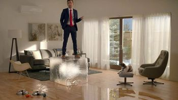 Mitsubishi Electric Hyper Heating Systems TV Spot, 'Ice Melt'