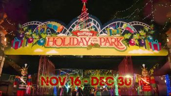 Six Flags Holiday in the Park TV Spot, 'Season Pass Savings' - Thumbnail 1