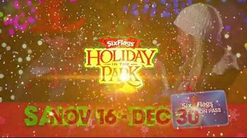 Six Flags Holiday in the Park TV Spot, 'Season Pass Savings' - Thumbnail 10