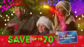 Six Flags Holiday in the Park TV Spot, 'Season Pass Savings' - Thumbnail 9