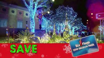 Six Flags Holiday in the Park TV Spot, 'Season Passes'