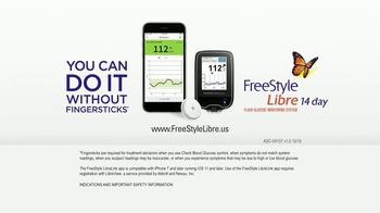 Abbott FreeStyle Libre TV Spot, 'No Fingersticks' - Thumbnail 8