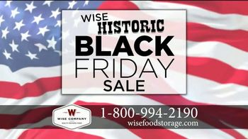 Wise Food Storage Historic Black Friday Sale TV Spot, 'Be Prepared' - Thumbnail 1