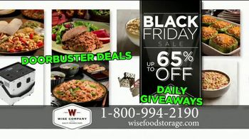 Wise Food Storage Historic Black Friday Sale TV Spot, 'Be Prepared' - Thumbnail 4
