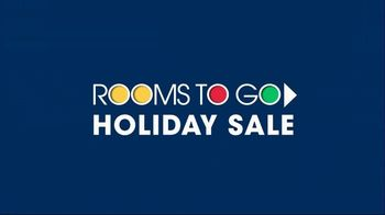 Rooms to Go Holiday Sale TV Spot, 'Dual Power Reclining Sectional'