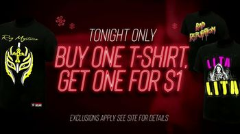 WWE Shop TV Spot, 'Holidays: Buy One Get One' Featuring Alexa Bliss - Thumbnail 9