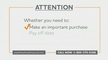 Peachtree Financial TV Spot, 'Selling Your Annuity Payments'