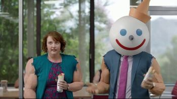 Jack in the Box Meaty Breakfast Burritos TV Spot, 'Bulkin' Up'