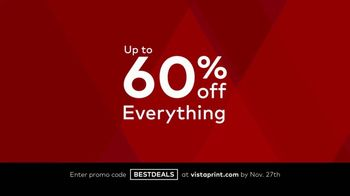 Vistaprint Black Friday & Cyber Monday Deals TV Spot, '60 Percent Off' Song by Wendy Child