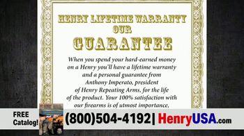 Henry Repeating Arms TV Spot, 'Personal Guarantee' - Thumbnail 5