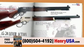 Henry Repeating Arms TV Spot, 'Personal Guarantee' - Thumbnail 8