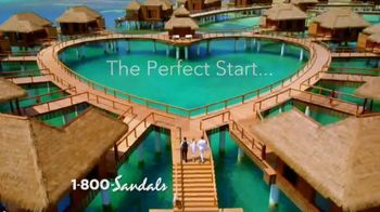 Sandals Resorts TV Spot, \'Time of My Life: Weddings\'