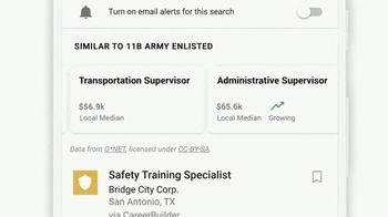 Google TV Spot, 'Veterans: Enter Your MOS Code to Find Your Next Job' - Thumbnail 7