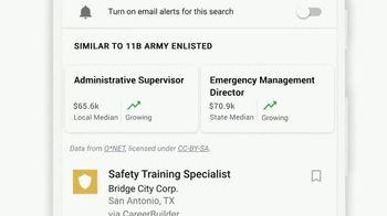 Google TV Spot, 'Veterans: Enter Your MOS Code to Find Your Next Job' - Thumbnail 8