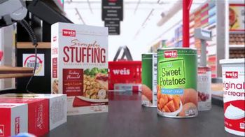 Weis Holiday Rewards TV Spot, 'Stuffing to Sweet Potatoes'