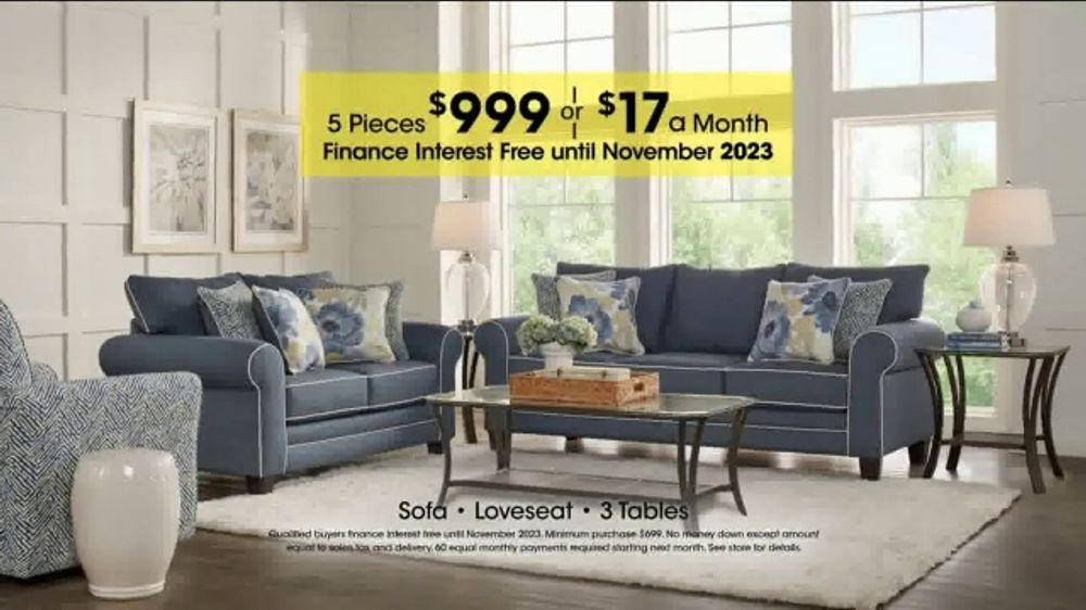 Rooms To Go Holiday Sale Tv Commercial Living Room Set Ispot Tv