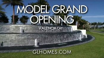 GL Homes Valencia Cay TV Spot, 'Model Grand Opening: Port St. Lucie'