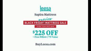 Leesa Black Friday Preview Mattress Sale TV Spot, 'Sapira Mattress' - Thumbnail 10