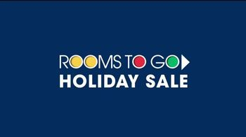 Rooms to Go Holiday Sale TV Spot, 'Complete Queen Bed' - Thumbnail 1