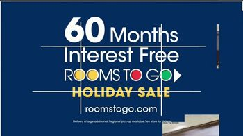 Rooms to Go Holiday Sale TV Spot, 'Complete Queen Bed' - Thumbnail 7