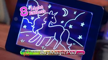 MagicPad TV Spot, 'Art Glows Bright' - 208 commercial airings