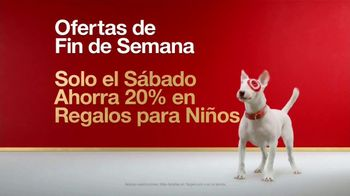 Target TV Spot, 'Ofertas de fin de semana: regalos para niños' [Spanish]