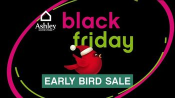 Ashley HomeStore Black Friday Early Bird Sale TV Spot, 'Beat the Crowds on Black Friday Hot Buys' - Thumbnail 1