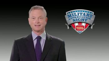 Golden Corral TV Spot, '2018 Military Appreciation Night' Featuring Gary Sinise - Thumbnail 1