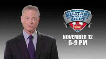 Golden Corral TV Spot, '2018 Military Appreciation Night' Featuring Gary Sinise - Thumbnail 9